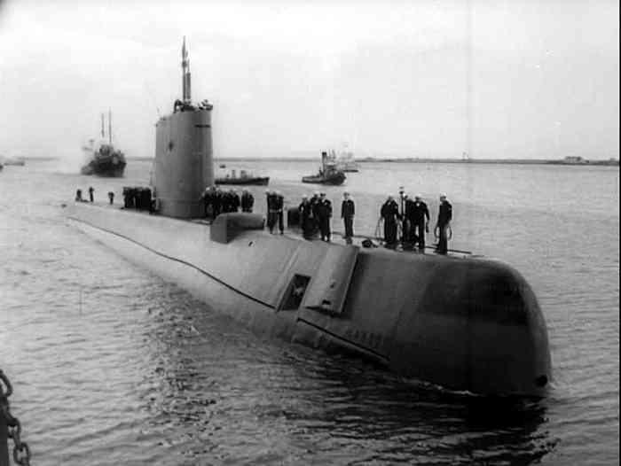 Sottomarino atomico USS 571 - Nautilus