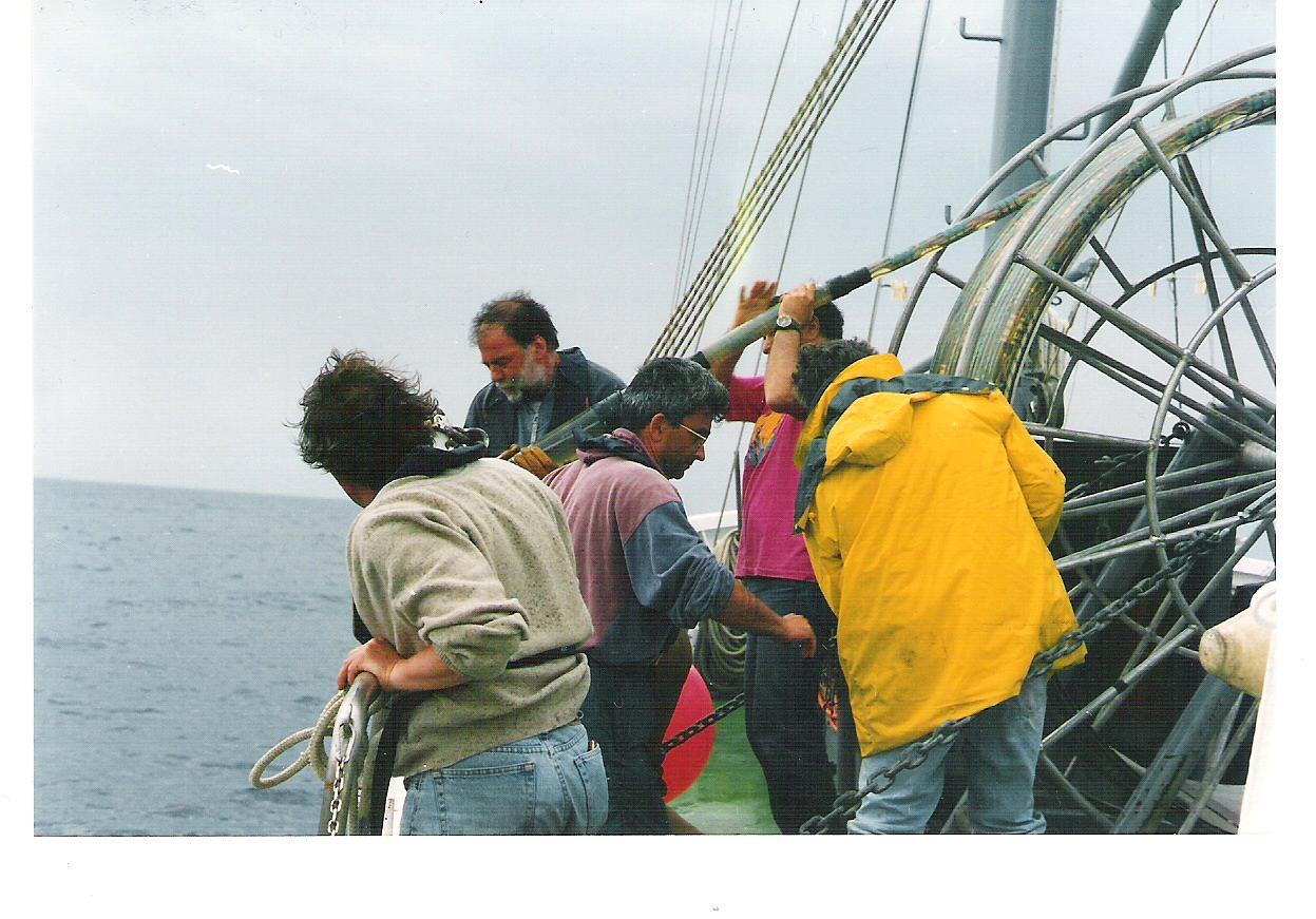 Messa a mare dell'array
